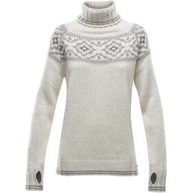 Devold Ona Round Sweater Dames, offwhite